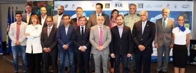 Extensive instutional support in the launch of the Rally Islas Canarias