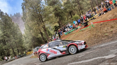 The Canary Islands Rally takes an exciting tour