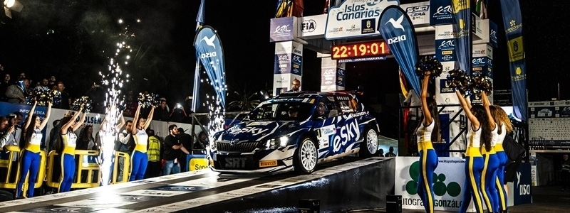 Rally Islas Canarias advances its celebration' date by one week